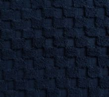 Luxurious linenHall, 850gsm 100% Cotton Reversible Bath Mat in Navy